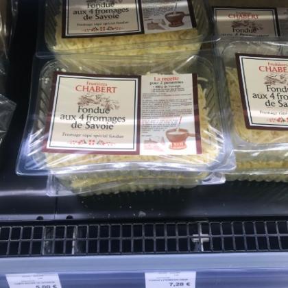 Fondue 4 fromages de Savoie