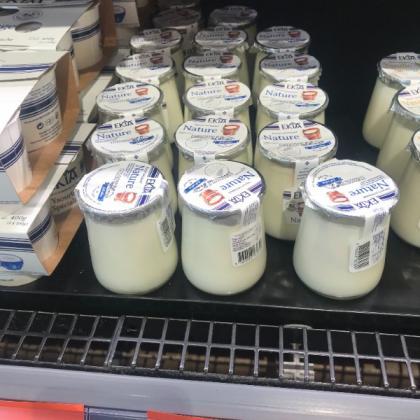 crème dessert nature, pot